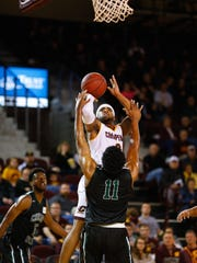 CMU's Marcus Keene might not last long in Mount Pleasant. He is considering a jump to the NBA after this season.