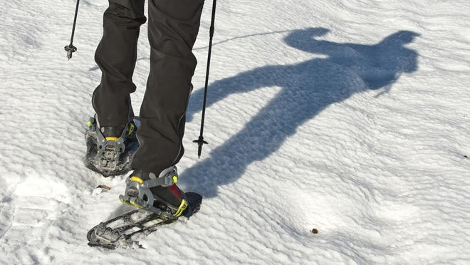 Learn snowshoeing skills at Necedah National Wildlife Refuge.
