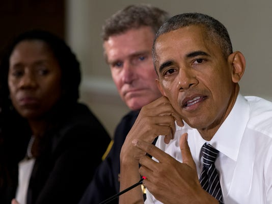 Barack Obama, Sherillyn Ifill, Terry Cunningham