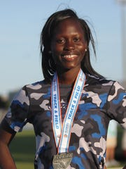 Gadsden County senior Trentorria Green was named a 2018 All-Big Bend first-team performer in girls track and field for her jumps success.