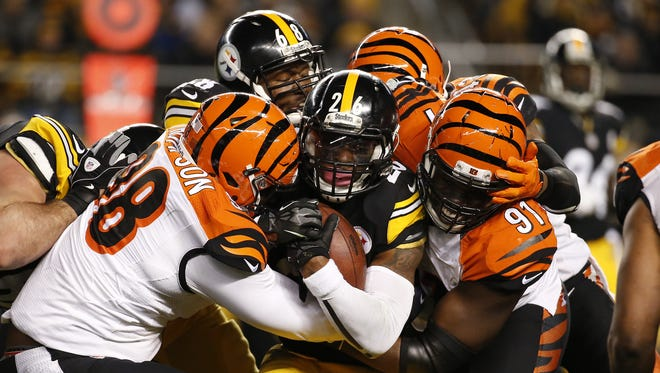 The Bengals are no longer 'little brother' to the Steelers, Paul Daugherty writes.