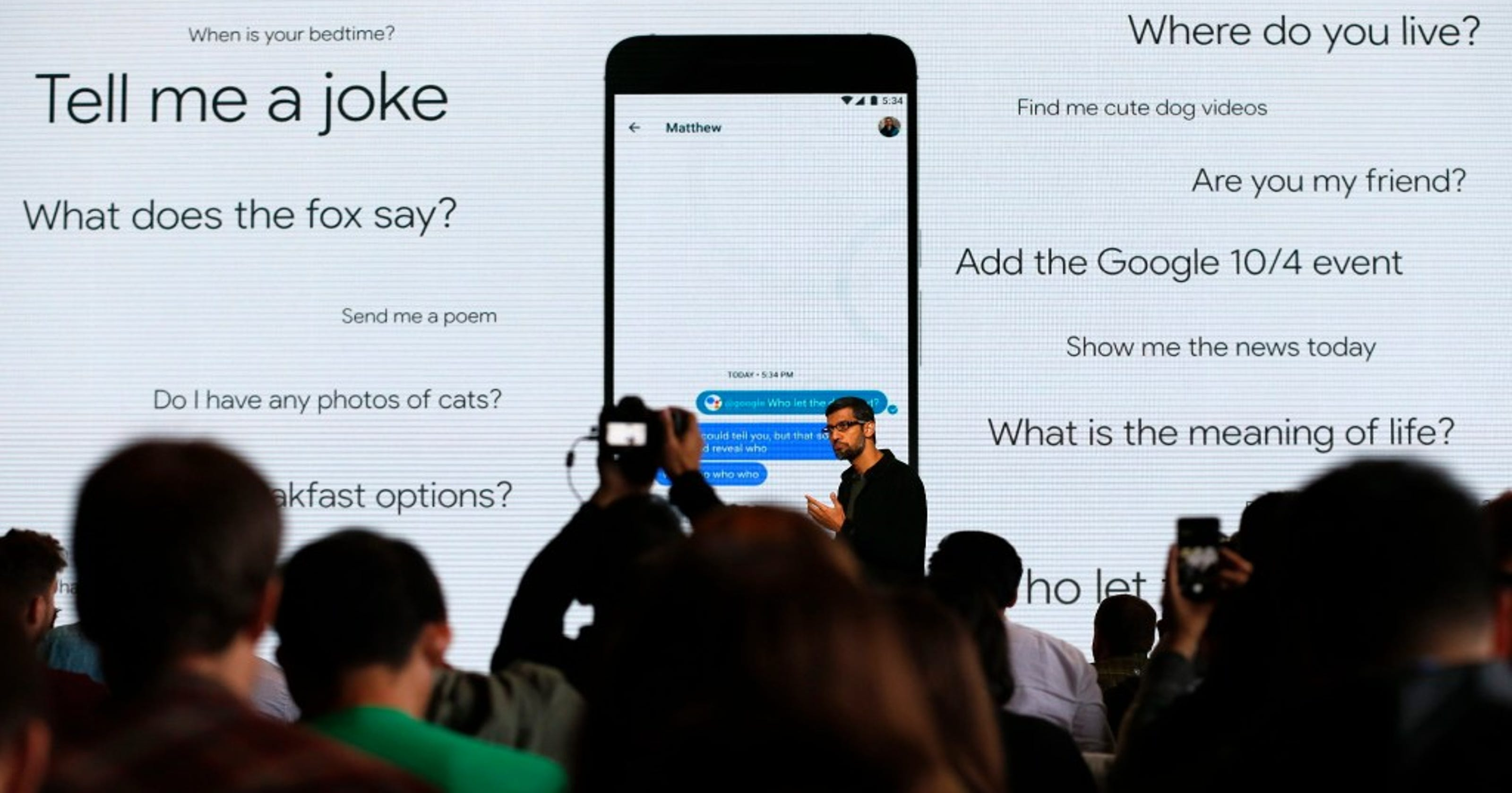 Google Assistant is star of Google's hardware unveil