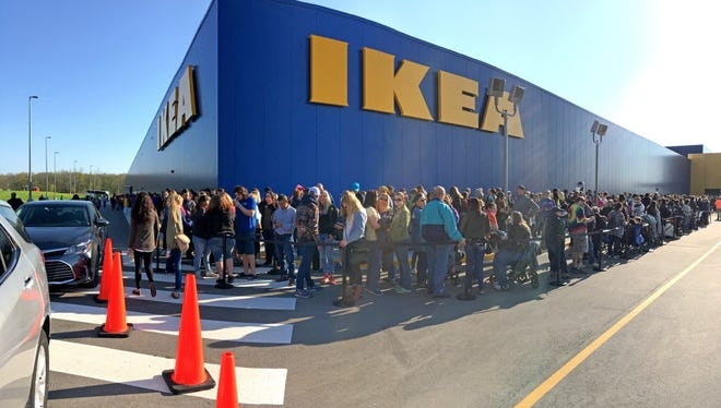 No. 2: Ikea, a furnisher retailer, with one recently-opened Wisconsin location in Oak Creek.