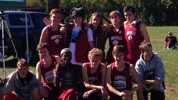 The Asheville boys won the 3-A Western Regional championship on Saturday in Hendersonville.