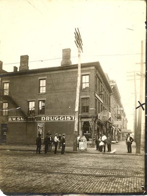 The location of Carl Etherington's hanging on July 8, 1910.