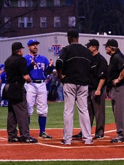 Louisiana Tech coach Lane Burroughs made his Bulldogs' debut Friday night against Arkansas-Pine Bluff.