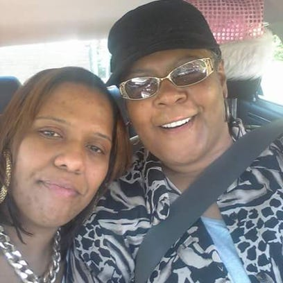 Tonia Watson and her mother, Theresa.