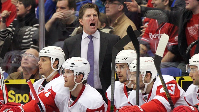 Detroit Red Wings coach Mike Babcock is in the final year of his contract.