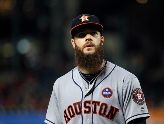 Astros' Game 1 starter Dallas Keuchel