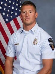 Captain Kyle Brayer, Tempe Fire Medical Rescue Department.