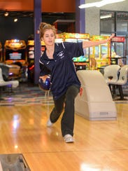 Wayne Valley senior Hayley D'Alessandro was named to the All-Passaic County girls bowling first team for 2017-18.