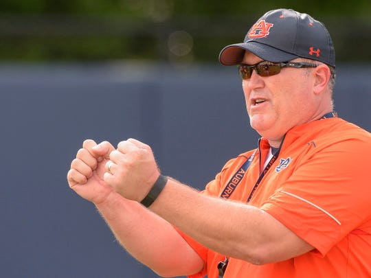 Auburn offensive line coach Herb Hand has finished his first season with the Tigers program after serving at West Virginia, Tulsa, Vanderbilt and Penn State.