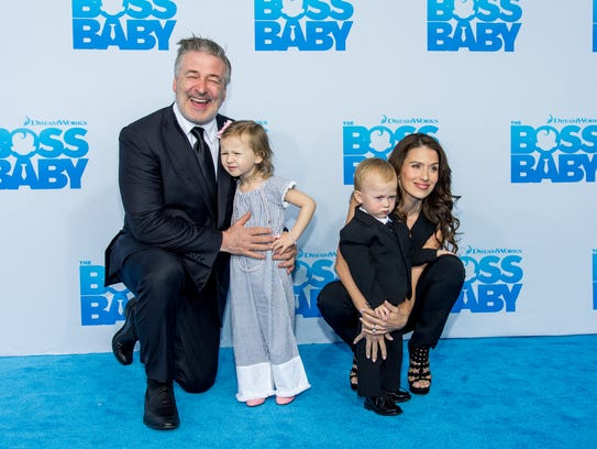 Alec Baldwin attends 'The Boss Baby' premiere in New