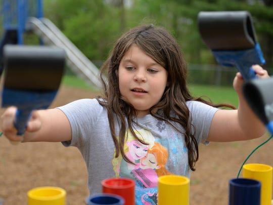 Kiah Reismiller, a second grader at East Hanover Elementary
