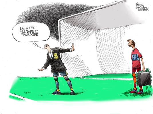 Benson cartoon May 29, 2015
