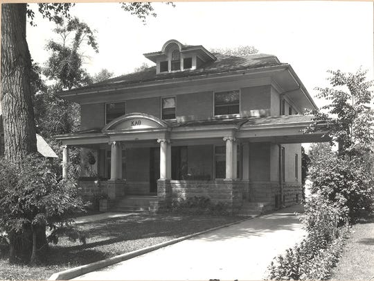 The Kappa Alpha Theta house, now part of The Music