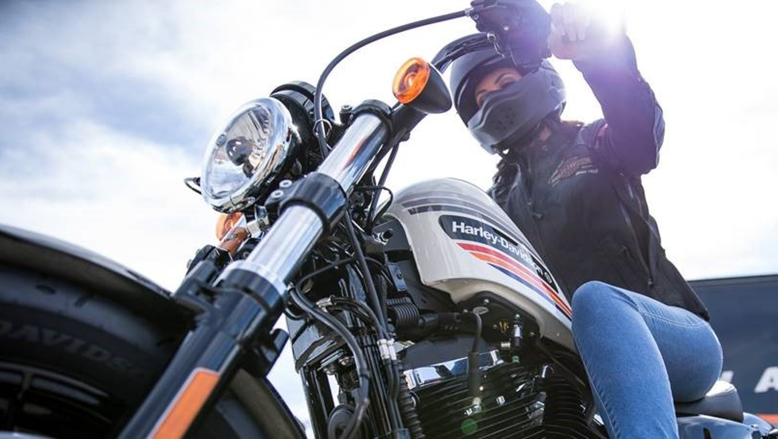 Harley s new intern deal Ride a bike all summer — and keep it