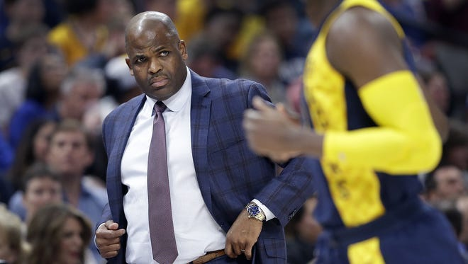 """We're going against LeBron and Cleveland, a guy who's been in the finals,"" says Indiana Pacers coach Nate McMillan. ""Nobody is giving us a chance."""