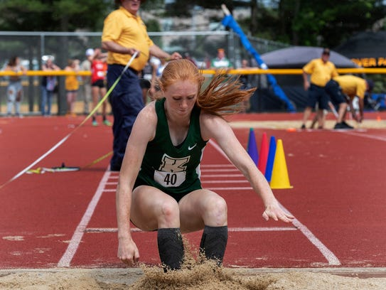Kinnelon junior Kathryn Brown qualified for this weekend's