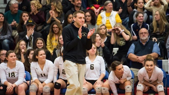 Delone Catholic volleyball coach Jason Leppo is faced with some unique challenges, like who can be on his bench, due to COVID-19 restrictions.