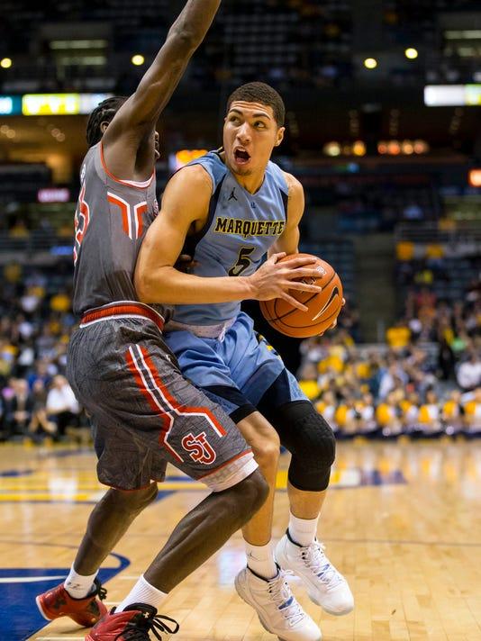 NCAA Basketball: St. John's at Marquette