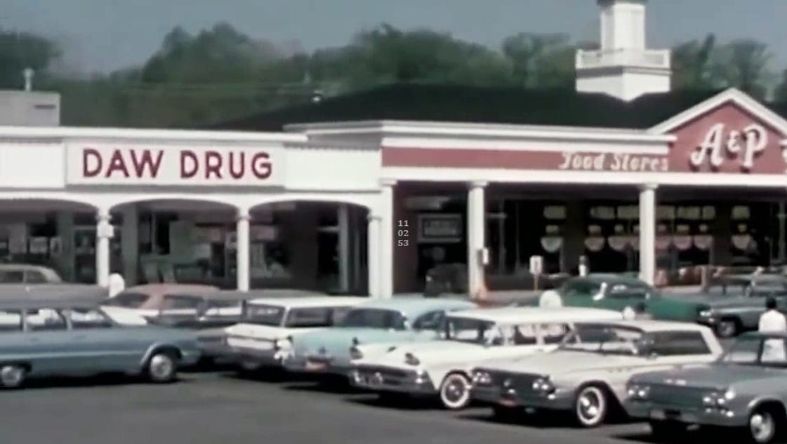 Whatever happened to daw 39 s drug stores for Michaels crafts pittsford plaza