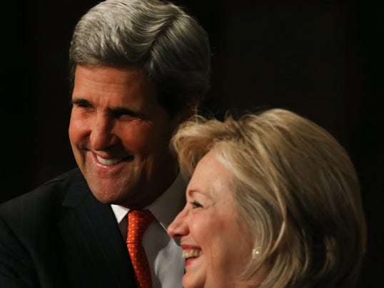 Kerry and Clinton