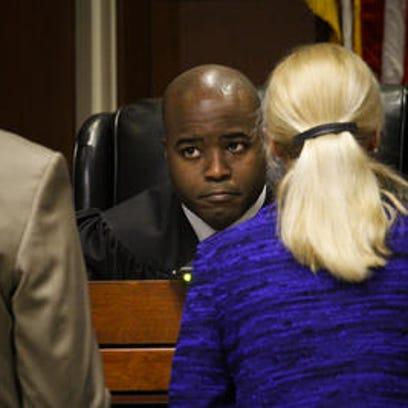 Jefferson Circuit Judge Olu Stevens, shown in court,