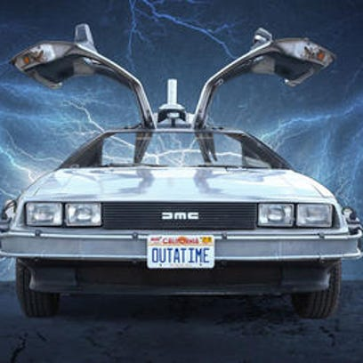 The DeLorean gained fame as a time-travell machine