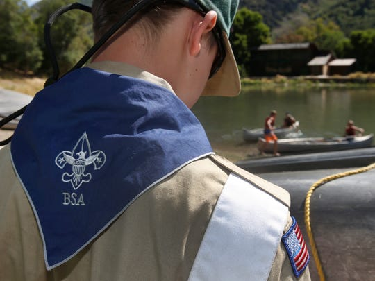The Boy Scouts of America says it supports holding abusers accountable.