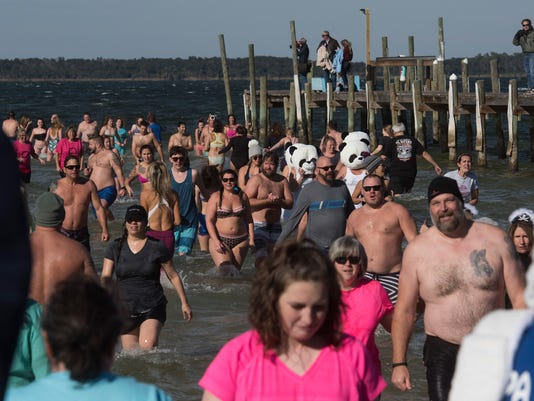 Paradise Bar and Grill-Polar Bear Plunge