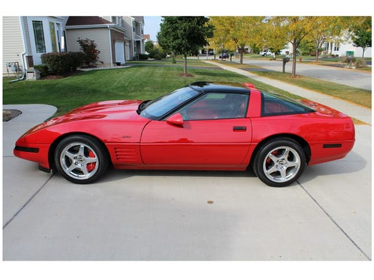 The 1991 Corvette ZR-1 featured 125 more horsepower than the standard Corvette that year.