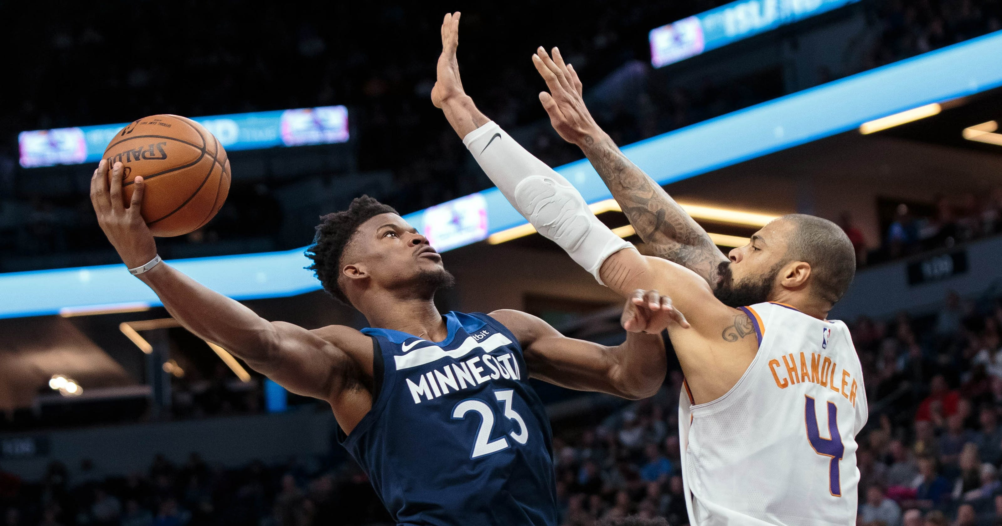 Poor defense costs Booker-less Phoenix Suns in loss to Timberwolves 7cf724504431