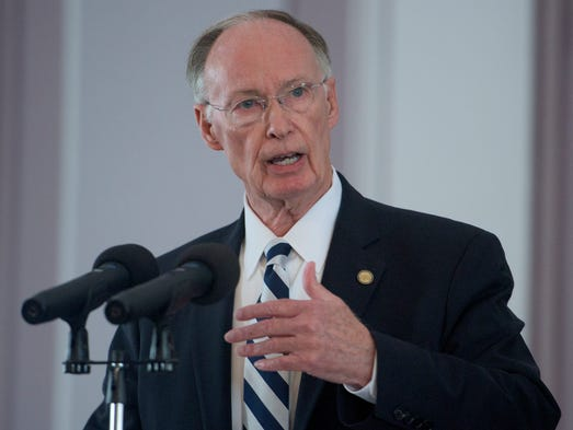Governor Robert Bentley announces that he will create