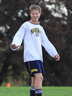 Alex Turnquist, who died in March 2015 at age 16 of brain cancer, was captain of the Spencerport Junior Varsity Soccer Team.