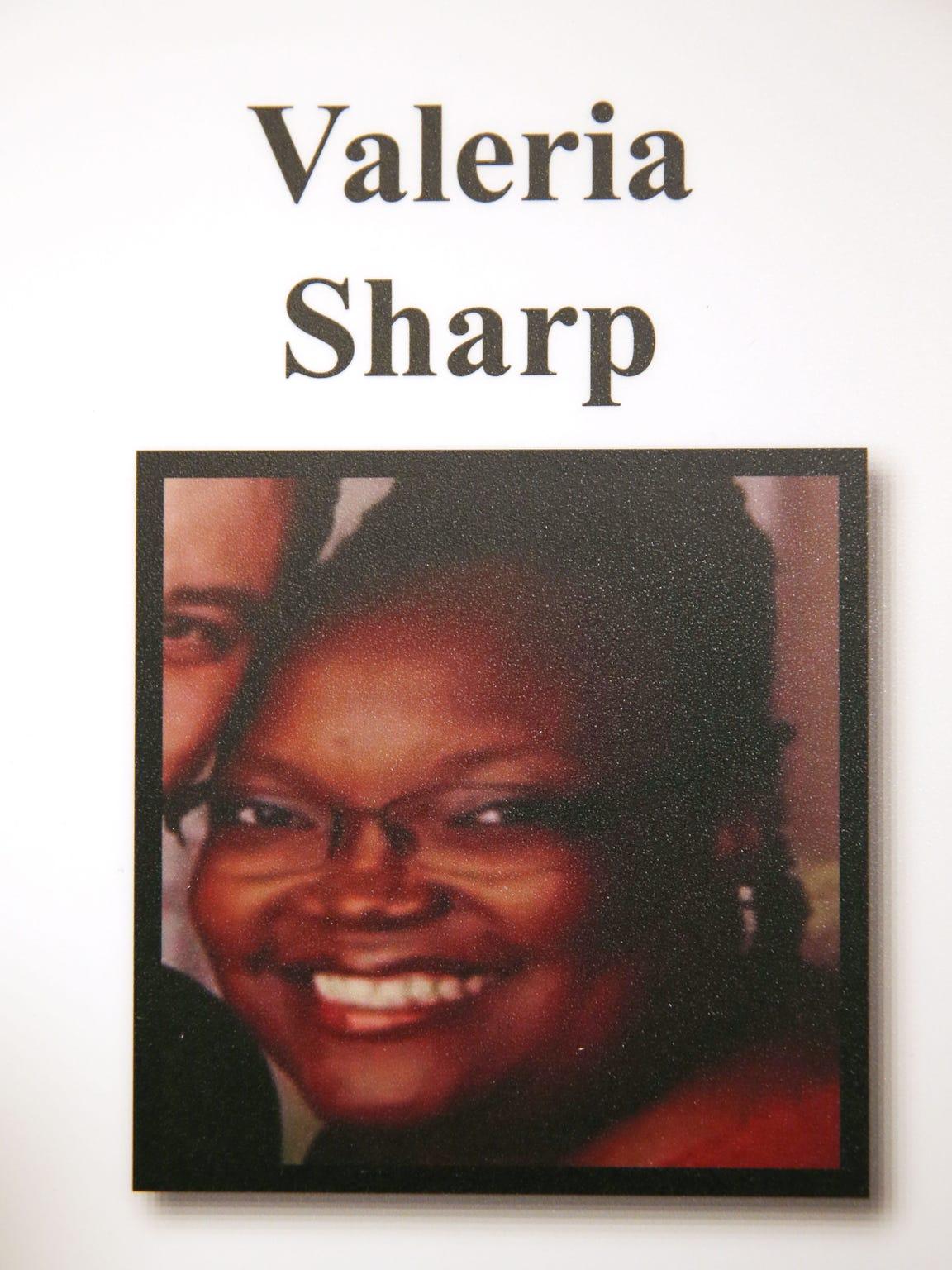 A photo of Veleria Sharp, a victim of Dwight Jones,