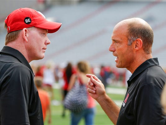 Shawn Eichorst, Mike Riley