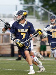 Reece Potter is a two-time all-state and all-America lacrosse selection with one season left at Hartland.
