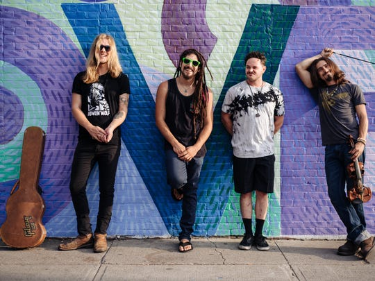Funk-rockers Gang of Thieves play a pair of hometown