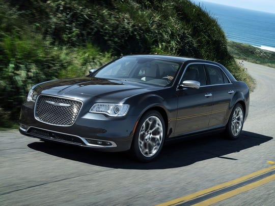 The 2018 Chrysler 300.