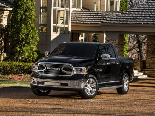 This photo provided by Fiat Chrysler shows the 2018 Ram 1500.  (Courtesy of Fiat Chrysler Automobiles North America via AP)