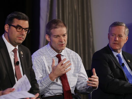 Politico Hosts Interview Session With House Freedom Caucus Members