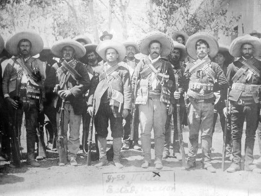 Pancho Villa & staff