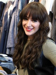 Shandy Klein, owner of Blew Boutique in Monsey, March 18, 2018. The shop sells contemporary modest style clothing.