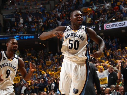 May 3, 2013 -  Memphis Grizzlies guard Tony Allen (9)