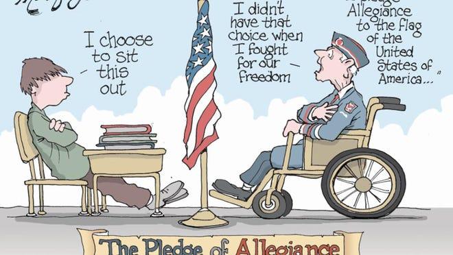 The Pledge of Allegiance by Doug MacGregor