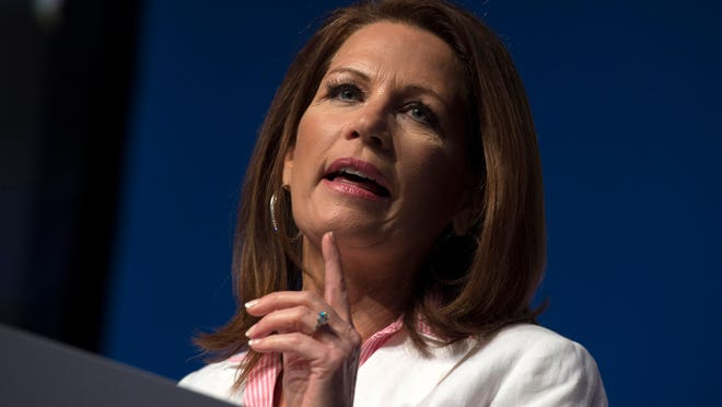 Rep. Michele Bachmann speaks at Faith and Freedom Coalition's Road to Majority event in Washington, D.C., June 20.