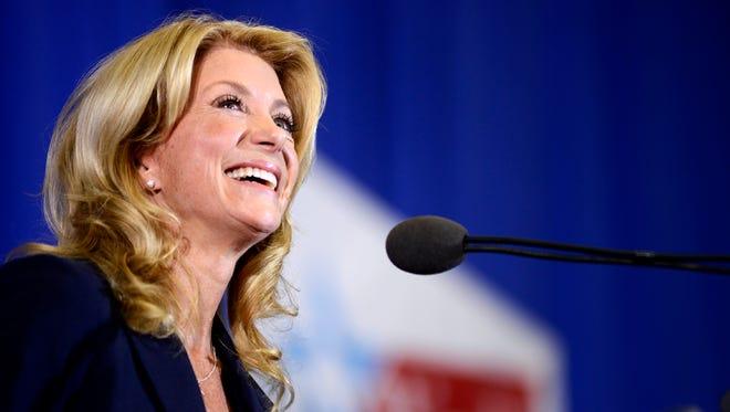 Texas State Sen. Wendy Davis, a Democrat, is running for governor in 2014.