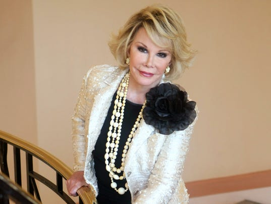 AP PEOPLE JOAN RIVERS I FILE ENT FRA