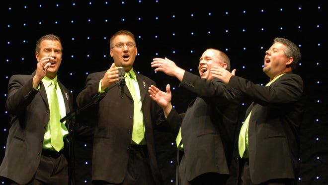 """Storm Front will perform as part of Color Country Chorus' annual spring show, """"Get Happy."""""""